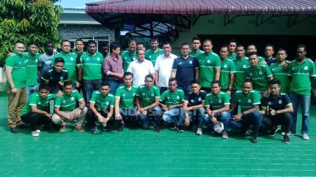 Edy Rahmayadi bertemu dengan para pemain PSMS Medan. - INDOSPORT