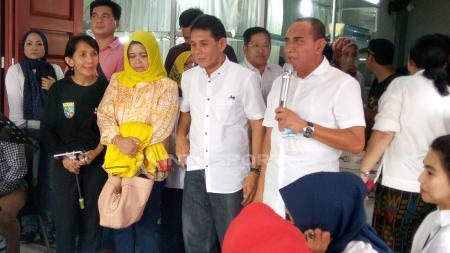 Edy Rahmayadi berjanji akan memberikan PSMS Medan stadion baru sepekan setelah dirinya dilantik menjadi Gubernur baru Sumatera Utara. - INDOSPORT