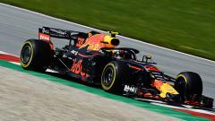 Indosport - Max Verstappen menjadi juara di GP Austria.
