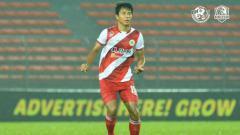Indosport - Achmad Jufriyanto saat berseragam Kuala Lumpur FA.