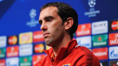 Diego Godin, bek tengah sekaligus kapten dari Atletico Madrid. - INDOSPORT