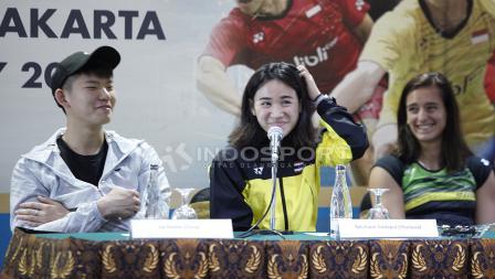 Ekspresi lucu tunggal putri Thailand, Nitchaon Jindapol.