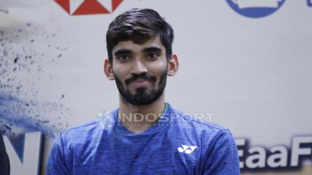 Pemain tunggal putra India, Kidambi srikanth. - INDOSPORT