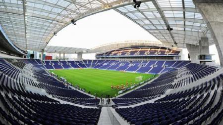 Stadion Estadio do Dragao milik klub FC Porto, yang akan menjadi tuan rumah putaran final UEFA Nations League - INDOSPORT