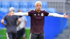 Indosport - Striker West Ham United, Javier Hernandez