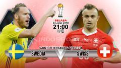 Indosport - Swedia vs Swiss.