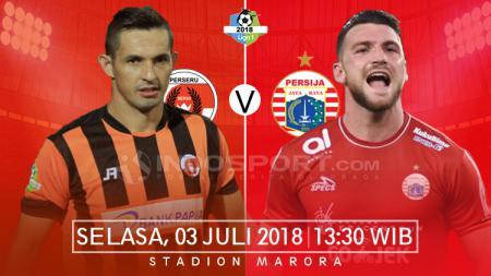 Perserui Serui vs Persija Jakarta. - INDOSPORT