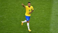 Indosport - Neymar saat berseragam timnas Brasil.
