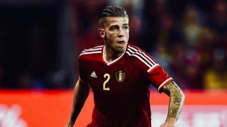 Bek tengah Belgia Toby Alderweireld di Piala Dunia 2018. - INDOSPORT