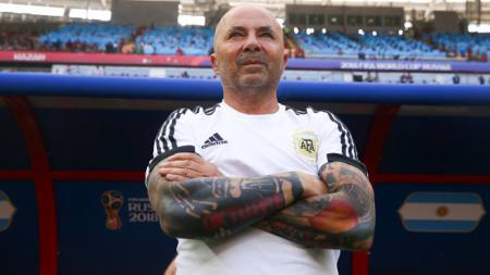 Jorge Sampaoli, pelatih Timnas Argentina. - INDOSPORT