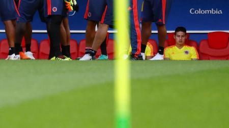 James Rodriguez 'diasingkan' dari skuat Kolombia. - INDOSPORT