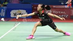 Indosport - Fitriani vs Rachanok Intanon