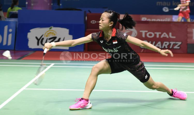Fitriani vs Rachanok Intanon Copyright: Herry Ibrahim/Indosport.com