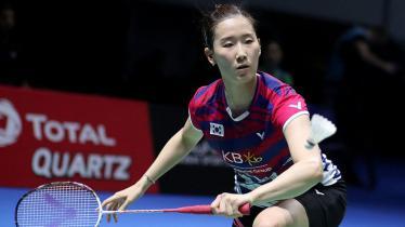 Pebulutangkis ganda putri Korea Selatan, Chang Ye-na angkat suara ketika ditanyai soal kepribadian sahabatnya asal Indonesia, yakni Greysia Polii. - INDOSPORT