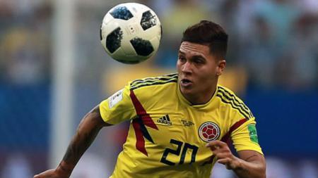 Juan Fernando Quintero, pemain Kolombia. - INDOSPORT