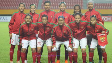 Timnas Wanita Indonesia di Piala AFF Women Championship 2018 - INDOSPORT
