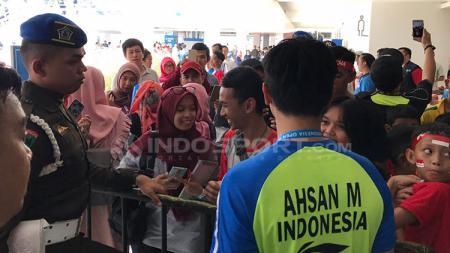 Mohammad Ahsan di Istora Senayan, Jakarta. - INDOSPORT