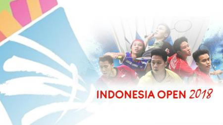 Ilustrasi Indonesia Open 2018. - INDOSPORT