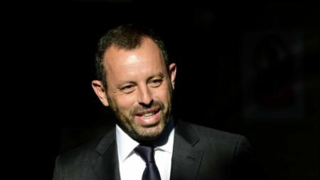 Sandro Rosell, mantan presiden Barcelona. - INDOSPORT