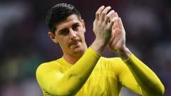 Indosport - Thibaut Courtois, kiper Chelsea.