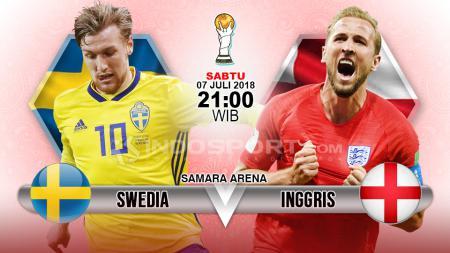 Swedia vs Inggris. - INDOSPORT