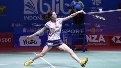 Indosport - Pebulutangkis tunggal putri Jepang, Aya Ohori,harus menelan pil pahit di Korea Masters 2019.