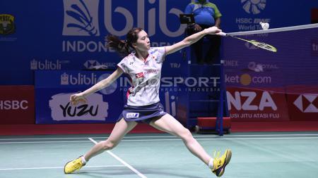 Pebulutangkis tunggal putri Jepang, Aya Ohori,harus menelan pil pahit di Korea Masters 2019. - INDOSPORT