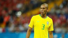 Indosport - Joao Miranda saat berkostum Timnas Brasil.
