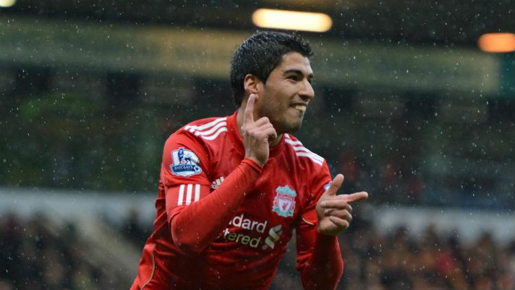 Luis Suarez, mantan pemain Liverpool. Copyright: Getty Images