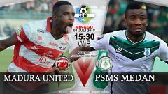 Indosport - Prediksi Madura United vs PSMS Medan