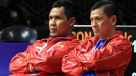 Pelatih PBSI, Hendry Saputra menyatakan, tunggal putra Indonesia harus fokus dan mempelajari cara bermain lawan demi raih hasil gemilang di Hong Kong Open 2019. - INDOSPORT