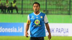 Indosport - Penyerang Barito Putera, Samsul Arif.
