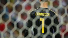 Indosport - Thibaut Courtois.