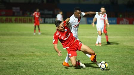 Pertandingan Persija Jakarta vs PSM Makassar, di Stadion Sultan Agung, Bantul, Jumat (06/07/18). - INDOSPORT
