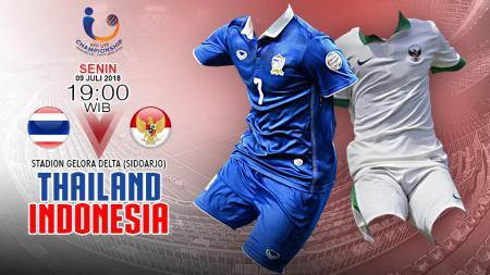 Prediksi Thailand U19 vs Indonesia u19 - INDOSPORT