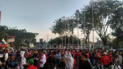 Indosport - Animo penonton Timnas Indonesia U-19 vs Vietnam.