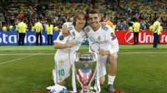 Indosport - Luka Modric dan Mateo Kovacic.