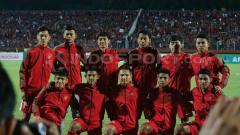 Indosport - Skuat Timnas U-19 untuk menghadapi Vietnam U-19.