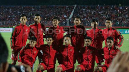 Skuat Timnas U-19 untuk menghadapi Vietnam U-19. - INDOSPORT