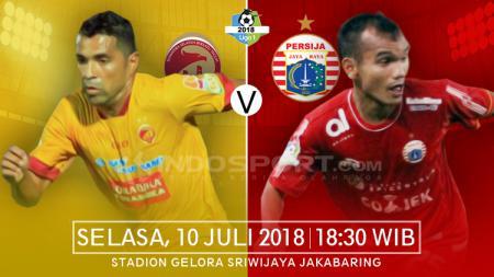 Sriwijaya FC vs Persija Jakarta. - INDOSPORT