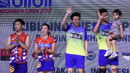 Berikut ini ada kisah ganda campuran Indonesia Tontowi Ahmad/Liliyana Natsir gagalkan ambisi juara ratu bulutangkis Malaysia Goh Liu Ying. - INDOSPORT