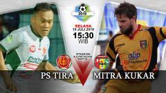 Indosport - PS TIRA vs Mitra Kukar.