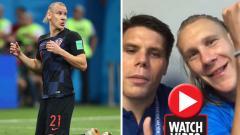 Indosport - Domagoj Vida dan Ognjen Vukojevic dalam video mereka.