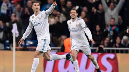 Cristiano Ronaldo dan Mateo Kovacic di Real Madrid - INDOSPORT