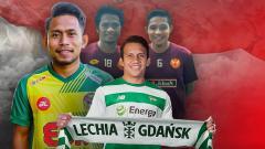 Indosport - Evan Dimas, Egy Maulana, Ilham Udin dan Andik Vermansah