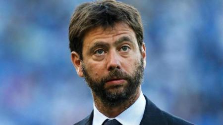 Presiden Juventus Andrea Agnelli yang juga pemegang saham FIAT. - INDOSPORT