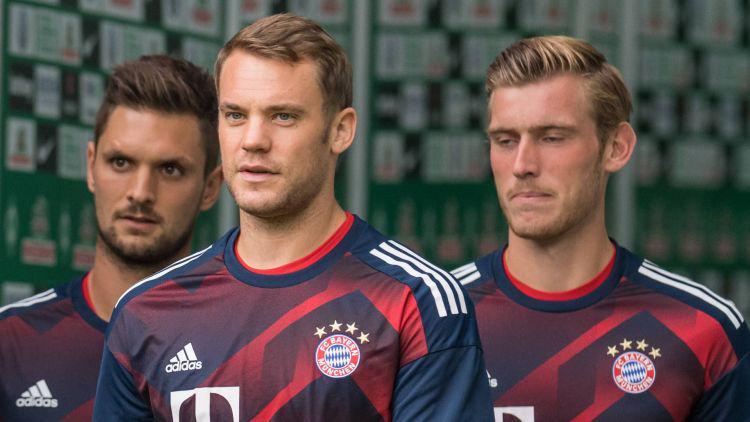 Neuer, Fruchtl dan Ulreich Copyright: bundesliga.com