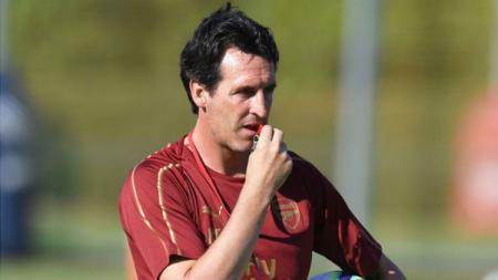 Pelatih Arsenal, Unai Emery. - INDOSPORT