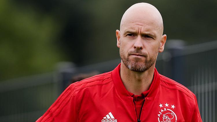Erik Ten Hag, pelatih Ajax Amsterdam. Copyright: INDOSPORT