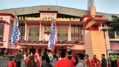 Indosport - Stadion Gelora Delta Sidoarjo.